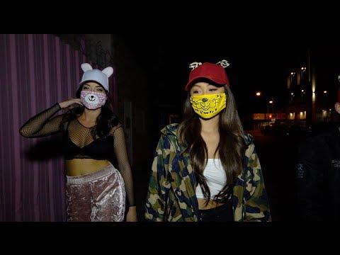 Face mask na may puting luad ng blackheads