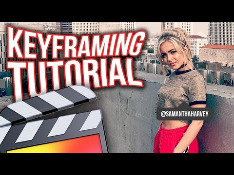 How To Use Keyframes – Final Cut Pro X