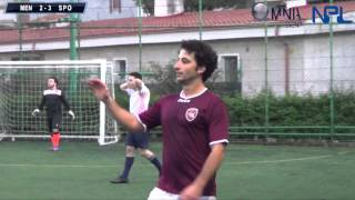 preview picture of video 'Serie B Omnia Event Men City F C B  VS Sporting Sicilia 6° Giornata New Palermo League'