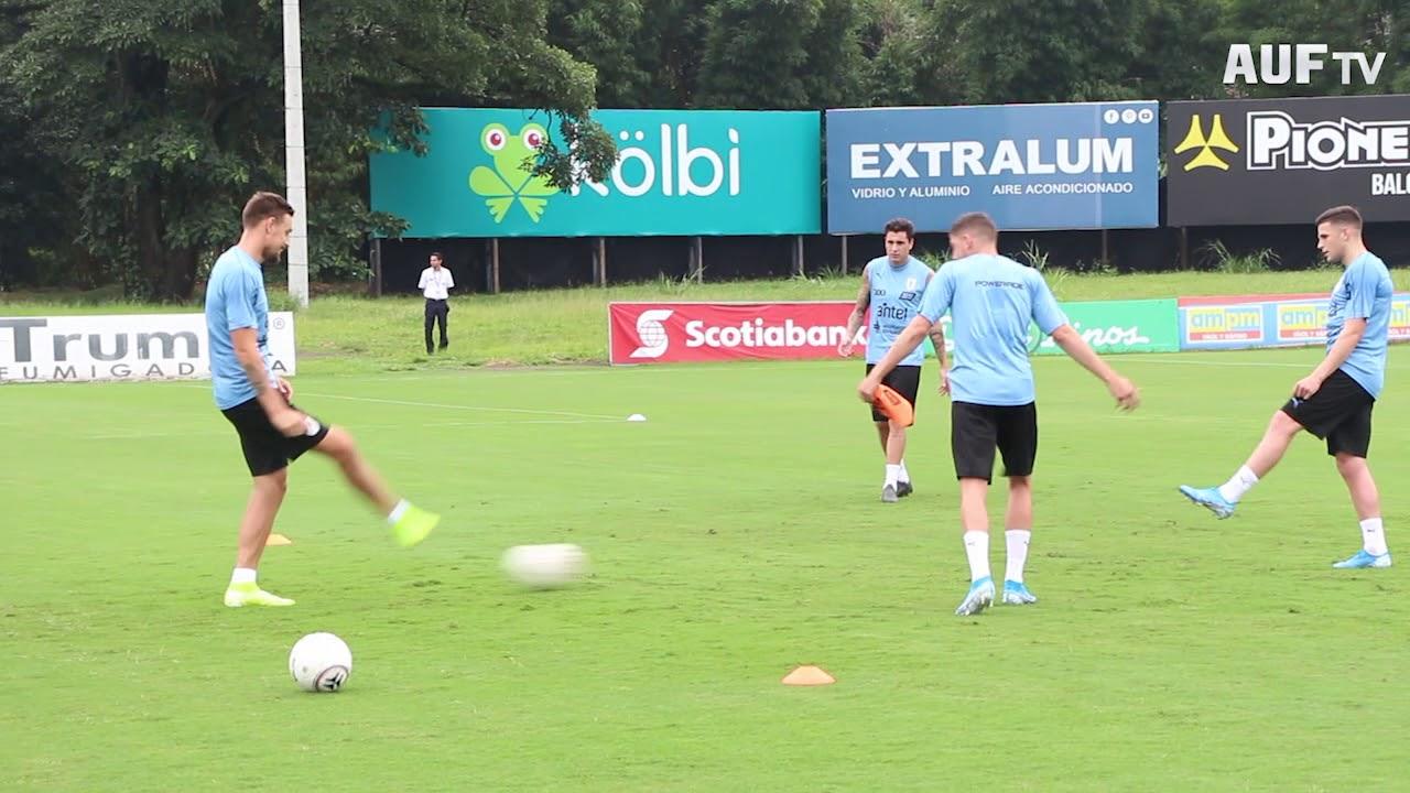Primer entrenamiento en Costa Rica
