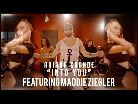 Ariana Grande - Into You feat Maddie Ziegler | @brianfriedman Choreography