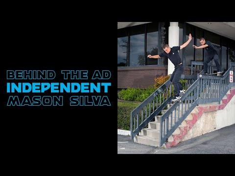 Mason Silva Boardslide Drop Down 50-50 | Behind The Ad