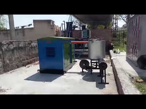 ESB-R12 - 12KW Standalone Biomass Gasifier With Canopy