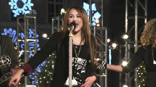 Rockin' Around the Christmas Tree - Miley Cyrus [Live] Rockefeller Tree Lighting 2008 HD