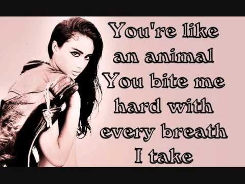 Natalia Kills - Love is a suicide lyrics on screen