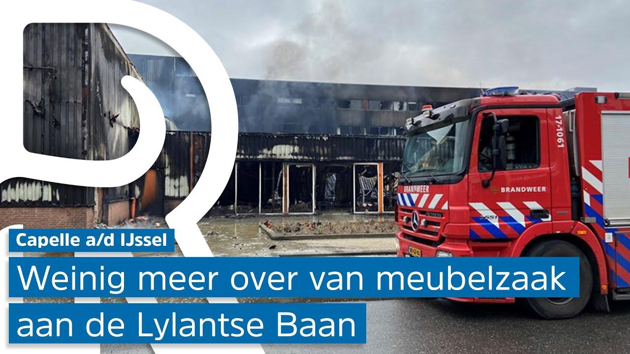Miljoenenschade na brand in Capelle aan den IJssel: 'Acht jaar van ons levenswerk verwoest'
