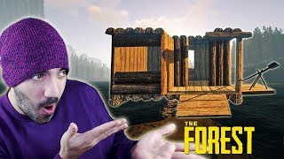 NUESTRA CASA BARCO TIENE UN PROBLEMA... ⭐️ The Forest #10 | iTownGamePlay