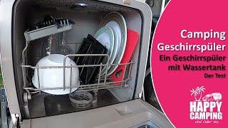 Camping Geschirrspülmaschine | Happy Camping
