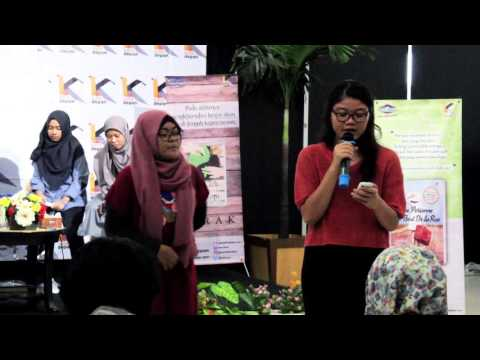 Talkshow dan pelatihan penulis bersama penerbit Katadepan