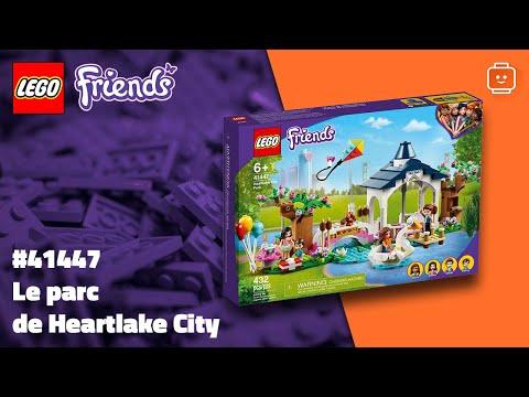 Vidéo LEGO Friends 41447 : Le parc de Heartlake City