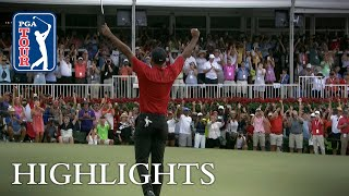 Tiger Woods wins TOUR Championship for 80th victory on PGA TOUR 2018 - Video Youtube