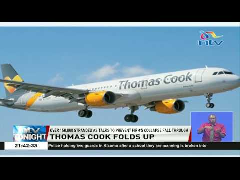 Over 150,000 of travellers left stranded as Thomas Cook folds up