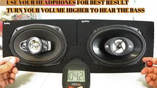 Pioneer TS-A6970F A Series 6X9 600 Watts  VS JBL Stage 9603 420 Watt 6x9 Best speaker test