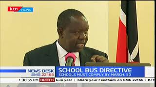 CS Matiang'i faults reports that parents will have to incur the cost of repainting buses