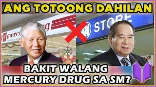 BAKIT WALANG MERCURY DRUG SA SM? | Henry Sy Story 2020