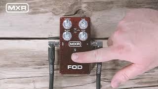 MXR M251 FOD Drive Video