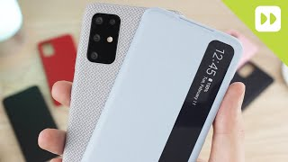 Samsung Galaxy S20 / S20 Plus / S20 Ultra Official Case Round Up - First Look