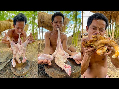 Soup Cow Intestine Spicy Cooking Recipe – Village Food Cooking