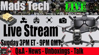 DJI Air 2 No FPV Support - Herelink and More - Mads Weekly Live