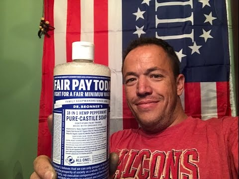 The Ultimate Camp Soap Dr Bronner's 18-1 Magic Soap One Soap For All Your Camping Needs Mp3