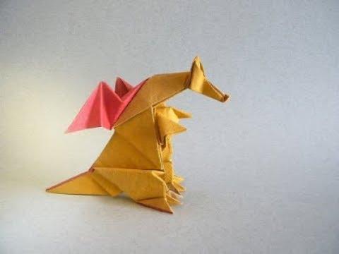 Origami peacock by Akira Yoshizawa - YouTube | 360x480