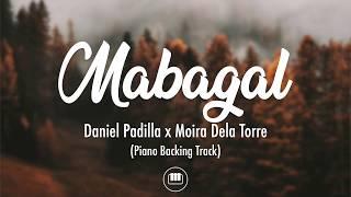 Mabagal - Daniel Padilla x Moira Dela Torre (Piano Backing Track)