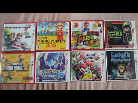 Mi Coleccion De Juegos De La 3ds Xl Memo El Zorro Video
