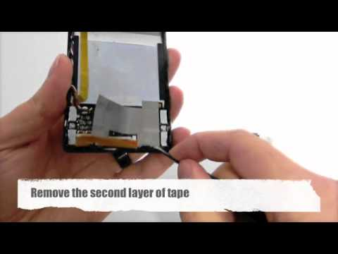 Installing a Zune 80 Hard Drive Zif Cable