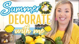 SUMMER DECORATE WITH ME 2020 | FARMHOUSE COTTAGE DECOR | DECORATING IDEAS | JESSICA ODONOHUE