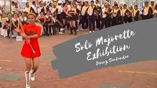 Solo Majorette Exhibition - Sto. Tomas, Batangas 2016