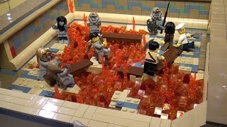 Massive LEGO ancient Egypt Pharaoh's Labyrinth - BrickFair Virginia 2014
