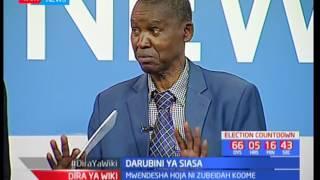 Waliochujwa kwa mchujo wa ugombea urais na tume huru ya IEBC-Darubini ya Siasa : Dira ya Wiki pt 2