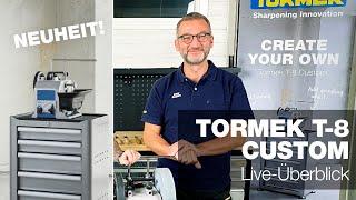 Überblick der neuen Tormek T-8 Custom | Tormek Live