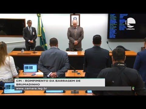 CPI - Rompimento da Barragem de Brumadinho - Relatório da CPI das Águas e Barragens de BH - 22/08/19