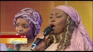 Wachumlilo Sisters - Ke Sikiloe Ke Jesu (Morning Live Performance)