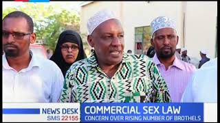 Wajir county assembly passes a law prohibiting commercial sex workers in the county