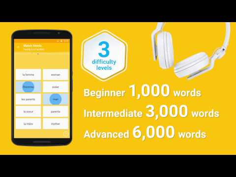 Video of Learn French 6,000 Words