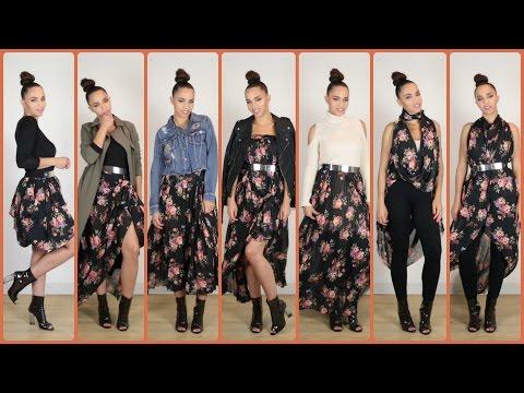 30 Cách Phối Đồ với 1 Chiếc Váy & Ý Tưởng Phối Đồ dành cho Thu
