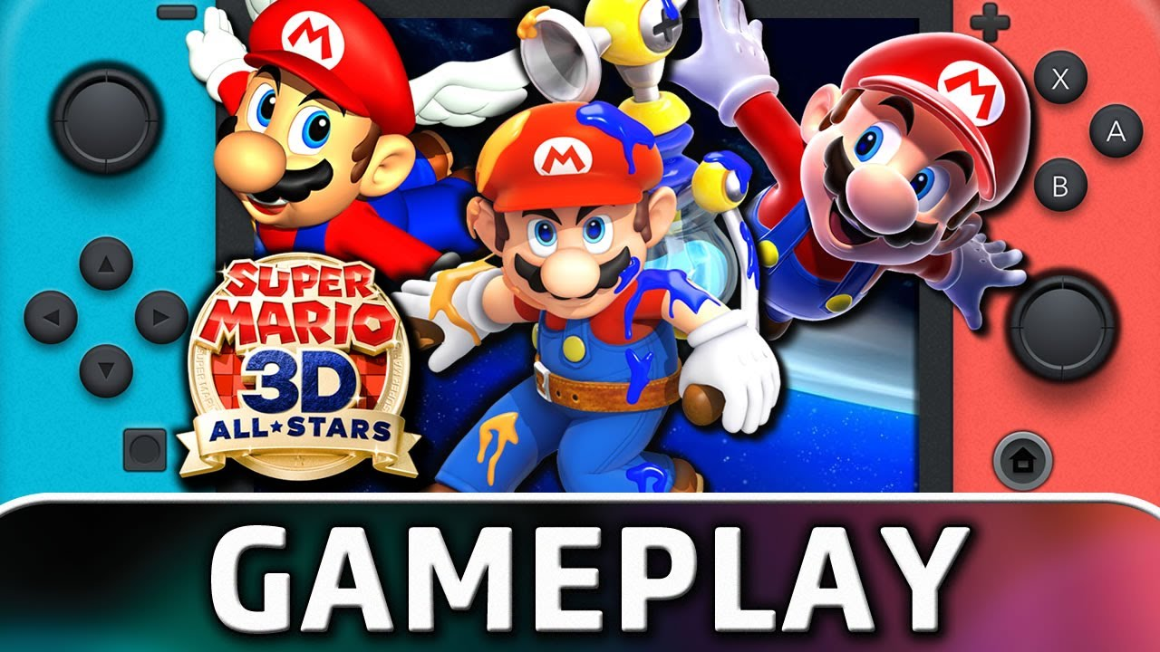Super Mario 3D All-Stars | Nintendo Switch Gameplay