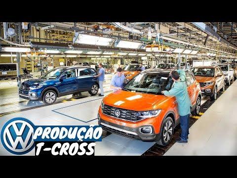 Volkswagen T-Cross 2020 - Linha de Produção em São José dos Pinhais (PR) | Top Carros