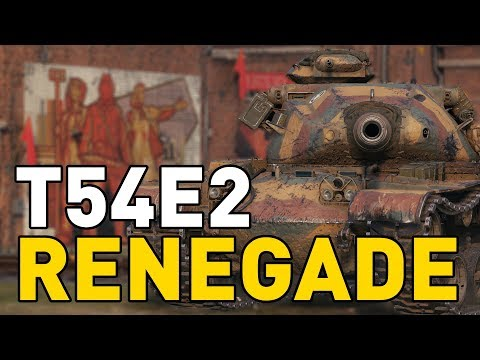 T54E2 RENEGADE - First look in World of Tanks!