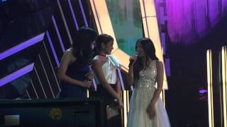 Liza, Kathryn, and Nadine at ABS-CBN Christmas Special 2015