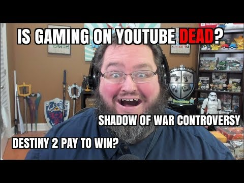 Gaming News: Youtube gaming DEAD? Destiny Pay To WIN? Shadow of Mordor Microtransactions!