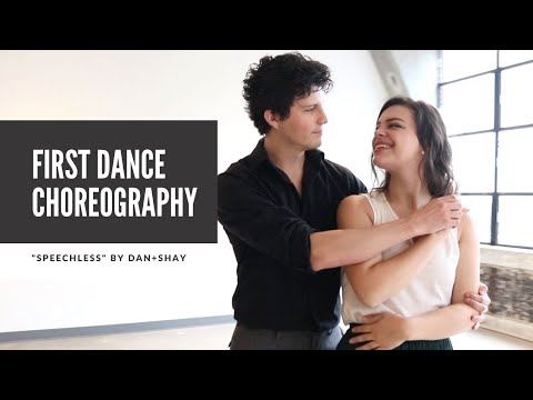 """Wedding First Dance Choreography to """"Speechless"""" by Dan + Shay   Dance Tutorial Available!"""