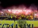 """""""LOBO SUR PEREIRA ( SALIDA CONTRA MEDELLIN )"""" Barra: Lobo Sur • Club: Pereira"""