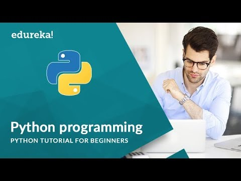 Python Programming | Python Tutorial For Beginners | Python Programming Training | Edureka