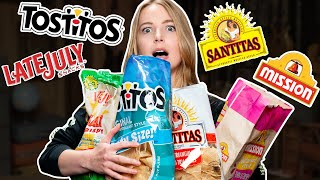 Tortilla Chip Brand Taste Test