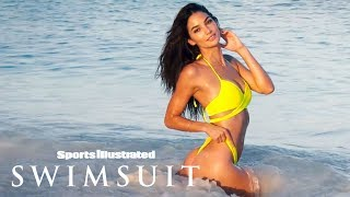 Lily Aldridge Shows Off 'Sandy Cheeks' In Turks & Caicos | Uncovered | Sports Illustrated Swimsuit