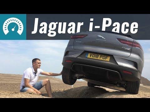 Jaguar  I Pace Кроссовер класса J - тест-драйв 1