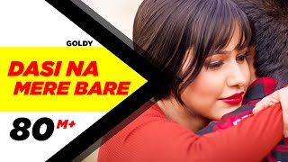 Dasi Na Mere Bare (Mp3) | Goldy | Latest Punjabi Song 2016 | Speed Records